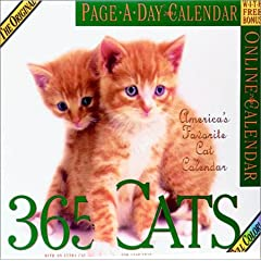 365 Cats 2004 Calendar (Color Page-A-Day(r) Calendars)