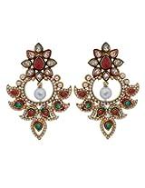 Abhushan Dangle & Drop Earings For Women - Multi-Colour