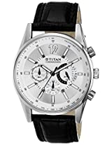 Titan Analog Silver Dial Men's Watch - 9322SL02