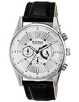 Titan Analog Silver Dial Men's Watch - 9322SL02