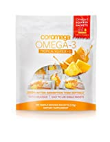 Coromega Omega3 Squeeze with Vitamin D3, Tropical Orange, 120 Count