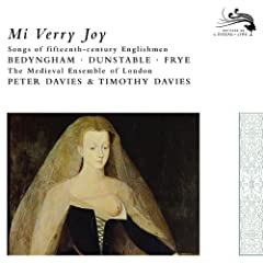 Mi Verry Joy: Songs of 15 Century Englishmen