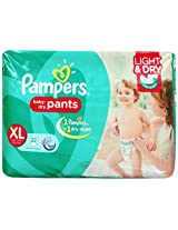 Pampers Pant Diapers Light And Dry Extra Large 32 Pieces (12+ kg)