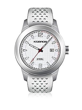 K&BROS Reloj 9446 (Blanco)