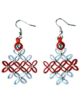 Designer's Collection Paper Quilling Ear Rings for Women-DSERA007_B