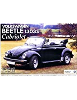 1/24 75 Volkswagen Beetle 1303 S Cabriolet By Aoshima