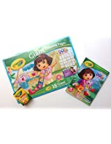 Dora the Explorer Giant 3 Piece Coloring Set