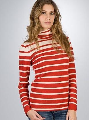 Aigle Jersey Wool53 (rojo / beige)