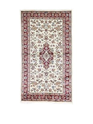 Eden Teppich   Kashmirian F/Seta 93X165 mehrfarbig