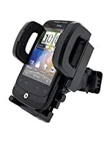 Vheelocityin Fly UNIVERSAL BICYCLE MOBILE PHONE 360 ROTATING SUPPORT HOLDER WITH MOUNTING BRACKET