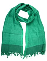 Shopatplaces Stole From Kullu In Sea Green - CKHS4SP5
