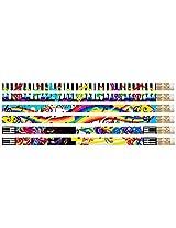 D2534 Mega Music - 36 Music Assortment Pencils