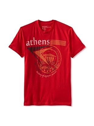 Kinetix Men's Athens Crew Tee Shirt (Red)