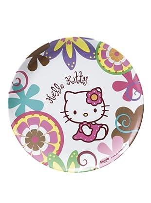 Plato Llano 24,5 cm Modelo Hello Kitty Bamboo