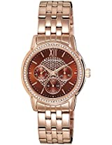 Giordano Analog Brown Dial Women's Watch - 2735-33