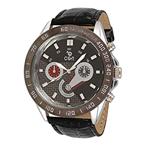 Chappin & Nellson CN-07-G Wristwatch - Black and Brown