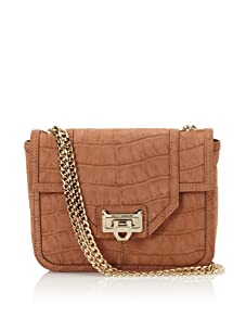 Rebecca Minkoff Women's Alaina Shoulder Bag with Front Lock, Dusty Rose