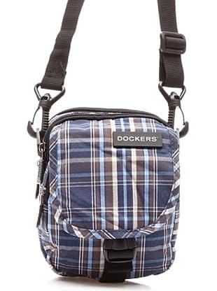 Dockers Bags Bolsa Pequeña Asimétrica (Azul)