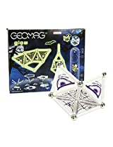 Geomag 37-Piece Glow-in-the-Dark Ghost Construction Set - Mentally Stimulating for Children and Adults - Safe and High Quality Construction - For Ages 3 and Up