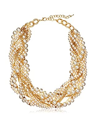 Chloe & Theodora Twisted Pearl Necklace
