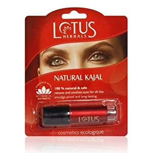 Lotus Herbals Female Natural Kajal-Black
