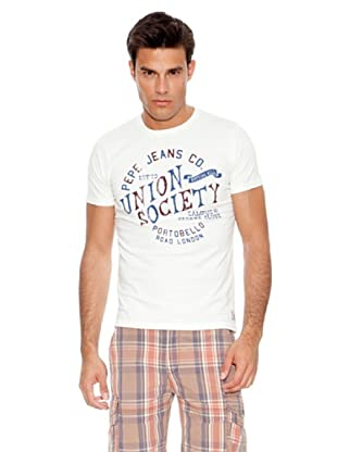 Pepe Jeans T-Shirt Sos (Weiß)