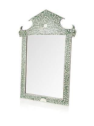 Mili Designs Mahendi Green Mirror, Green