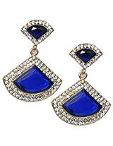 11-Girls Beautiful Style Diva Blue Designer Earring