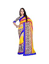 Agarwal Creation Cotton Saree (Acdsfl553-A-1Ac-S _Yellow)