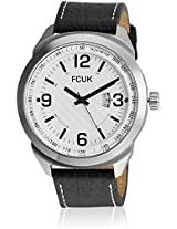 Fc1113Bwgn Black/White Analog Watch FCUK