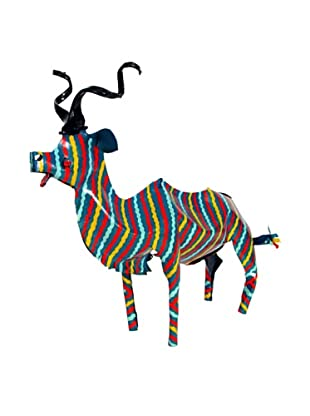 Mbare Painted Tin Kudu (Multi)