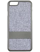 Case Logic 100 Sleek and Highly Protective Fabric Case for iPhone 6 - Retail Packaging - Grey