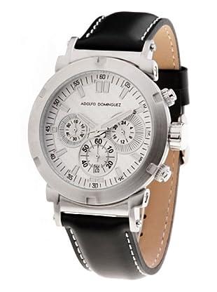 Adolfo Dominguez Watches 71002 - Reloj de Caballero cuarzo correa piel dial Blanco