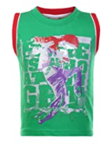 SAPS - Sleeveless Printed T Shirt