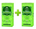 Organic India 2 Packs of Tulsi Green Tea Bags
