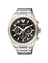Citizen Eco-Drive Analog Black Dial Men's Watch - CA4015-54E
