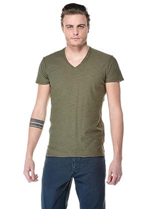 Diesel Camisa Tos (Verde Militar)