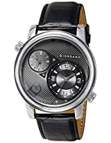 Giordano Analog Black Dial Men's Watch - 60058 DTL Black - P10499