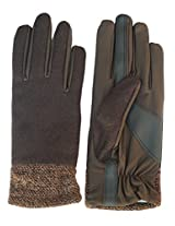 Isotoner Women's Fashion Hem Stretch Glove, Brown