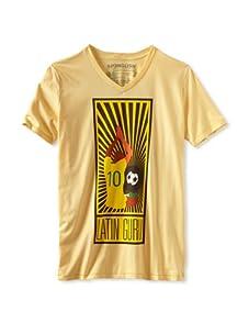 Spenglish Men's Latin Guru T-Shirt (Butter Yellow)