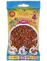Bulk Buy:Hama Brown 207 20 Midi Beads 1,000 Count (6 Pack)