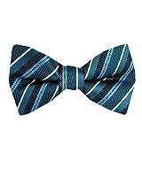 FBTT-11082 - Teal - Aqua - Big and Tall Self Tie Bow Tie