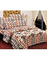 Expressions Density Polycotton Double Bed Sheet Set 003 - ExpressionsDensityDB003