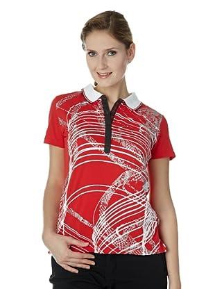 Luhta Polo Shirt Auli (klassisch rot)