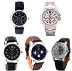 Pittsburgh Polo Club Combo Of 5 Men Watches