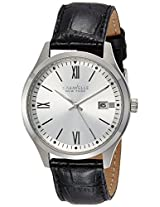 Caravelle New York  Analog Silver Dial Men's Watch - 43B143