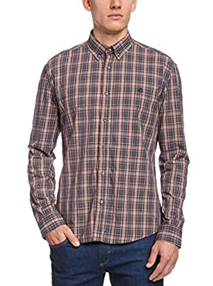 Selected Camisa Hombre Clay (Azul Marino)