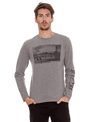 Timeout Camiseta Playa (gris jaspeado)