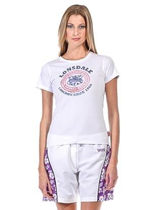 Lonsdale Camiseta Sam Roi Yot (Blanco)