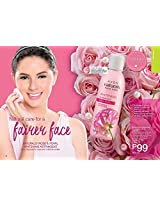 Avon Naturals Face Care WHITENING TONER ROSE & PEARL 100ml